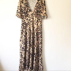 ASOS Leopard Print Maxi Dress 6